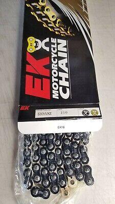 Black 150 Links EK Chain 801-520MVXZ-150//K 520 MVXZ Quadra X-Ring Chain