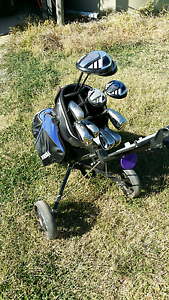 Golf bag and buggy. Tatura Outer Shepparton Preview