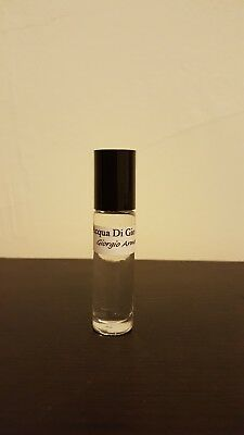 1/3oz 10ml UNCUT Acqua Di Gio Giorgio Armani TYPE Men Oil Perfume RollOn Body