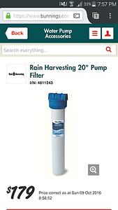 Rain water tank filter by Rain Harvesting Regents Park Logan Area Preview