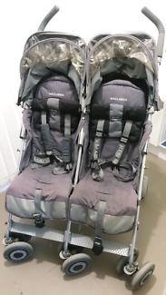 Maclaren Twin Stroller Prams Strollers Gumtree Australia