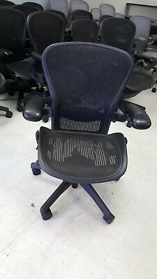 Herman Miller Aeron Office Task Chairs Carbon Black Mineral Silver A B C