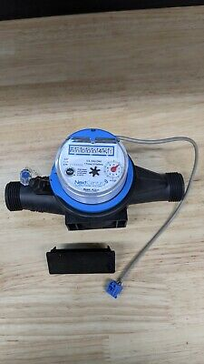 New 34 Npt Cold Water Meter - Pulse Output Next Century M201c
