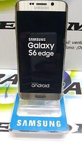 TELEFONO-SAMSUNG-GALAXY-S6-EDGE-SM-G925F-32GB-ORO-GOLD-USADO-GRADO-A