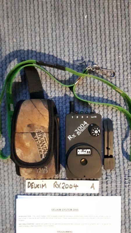 Delkim Rx2004 SUPER COND & SOFT CASE with LANYARD & BELT CLIP + INSTRUCTIONS