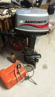 Boat motor - Outboard - 2 stroke Mariner 8hp Greenmount Mundaring Area Preview