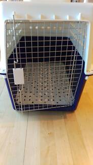 Dog carry cage, large size, as new