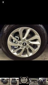 """Brand new 17"""" mags and tires 1000 firm"""