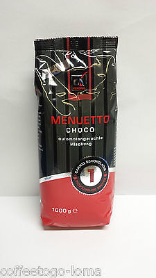 CA Vending Menuetto Choco Schokolade kakaohaltiges Getränkepulver 1000g Beutel