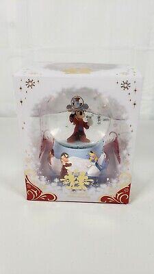 Mickey Fantasia Sorcerer's Apprentice Snowglobe Disney Store Bambi Grumpy Alice