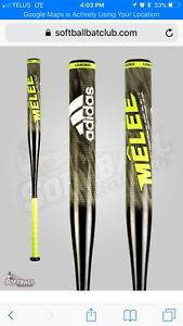 Adidas melee 2 end load softball bat 27 oz
