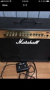 Marshall MG250DFX Stereo Combo Amp  With pedal