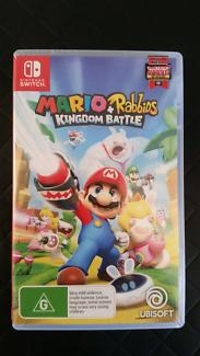 BRAND NEW!  NINTENDO SWITCH MARIO & RABBIDS KINGDOM BATTLE GAME