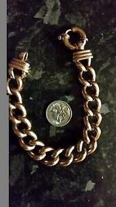 Rose gold curb link bracelet Wurtulla Maroochydore Area Preview