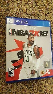 PS4 NBA 2K18 BASKETBALL ELECTRONIC ARTS EA SPORTS KRIE IRVING