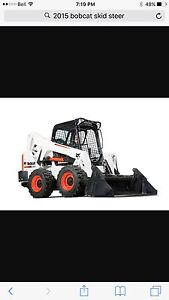 Bobcat skid-steer available for rent or lease in Prince George