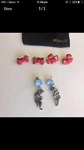 3X Authentic Mimco Earrings Alexander Heights Wanneroo Area Preview