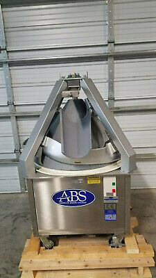 Abs Dough Rounder Abscrs-10 208 Volts 3 Phase Tested