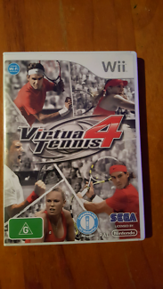 Virtua Tennis 4 Wii Game