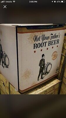Not Your Fathers Root Beer Official Nyfrb Fridge Refrigerator. Collectible New