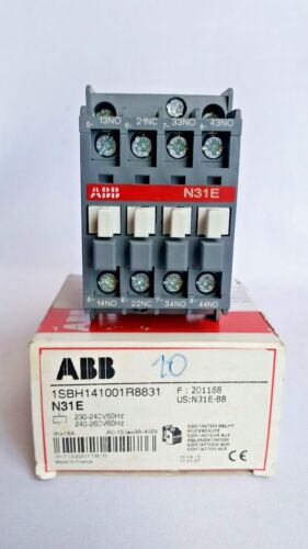 ABB Contactor Relay N31E, 1SBH141001R8831