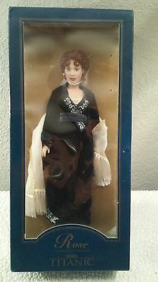 Vintage Rose Titanic Franklin Mint Vinyl Portrait Doll
