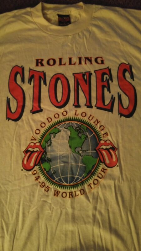 AUTHENTIC VINTAGE NEW  Rolling Stones Voodoo Lounge Tshirt size XL 1994-95 RARE