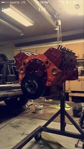 Built 350 Chevy