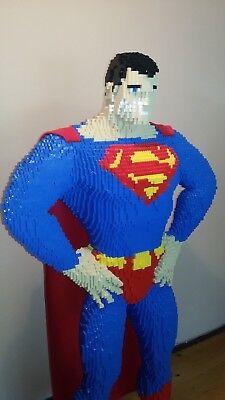 30% SALE OFF LEGO Superman & Batman structure instruction bundle - save 90 $