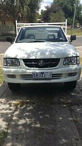 2002 white holden rodeo 6cyl LX Golden Point Ballarat City Preview