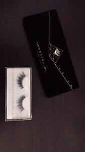 "Anastasia beverly hills ""prism"" palette and huda beauty lashes"