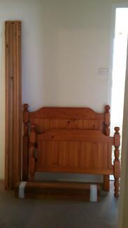 Single bed frame solid wood. Mortdale Hurstville Area Preview