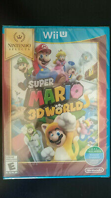 BRAND NEW - SUPER MARIO 3D WORLD - NINTENDO WII U - NINTENDO SELECTS