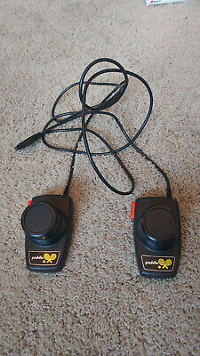 Atari 2600 Pair Of Original Paddles Controller OEM Authentic