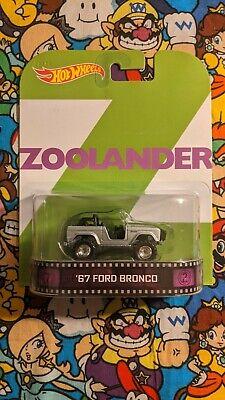 Hot Wheels Retro Entertainment Zoolander '67 Ford Bronco