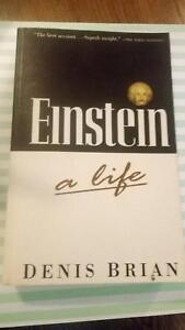 Einstein a way of life by Denis Brain used book