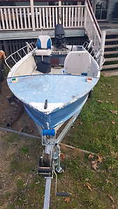 14ft tinnie and outboard Warwick Southern Downs Preview