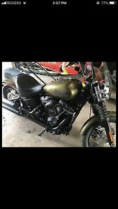 Harley Davidson Street Bob 1 of 50 Colour Trade for Muscle Car