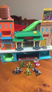 Teenage Mutant Ninja Turtles Playset