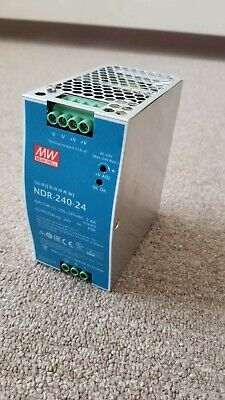 Mean Well 24v Dc Power Supply Ndr-240-24 10a