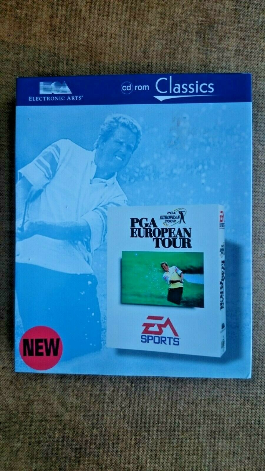 PGA European Tour (PC Windows 1996) - Big Box Edition