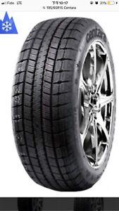 Pneus d'hiver neufs new winter tires 195/55R15 liquidation 240$