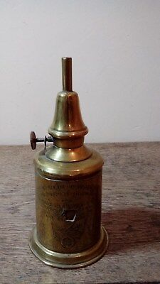 Antique Copper 'Pigeon Lampe Marveilleuse' Oil Lamp