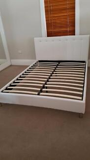PU LEATHER QUEEN BED FRAMES- BRAND NEW