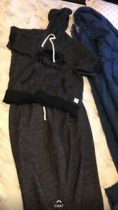 Roots tracksuit size medium and large