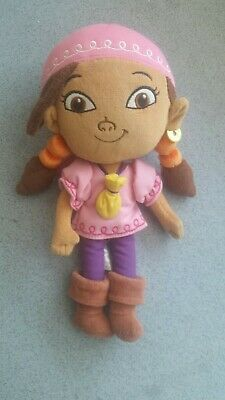 12 in IZZY DISNEY STORE GIRL FROM JAKE AND THE NEVERLAND PIRATES PLUSH SOFT TOY ](Izzy From Jake And The Neverland Pirates)