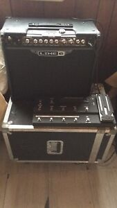 Line6  spider jam and shortboad controller guitar amp