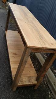 Made to order bench, hall table made from reclaimed timber Lonsdale Morphett Vale Area Preview