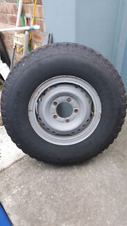 7.50 R16 Tyres and Rims 4x4 Split Rims