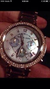 MK mother of pearl ladies watch(brand new)